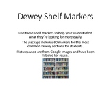 Dewey Decimal Shelf Markers
