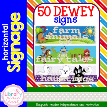 Dewey Decimal Signage