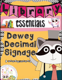 Dewey Decimal Signage- Dewey Decimal for Libraries