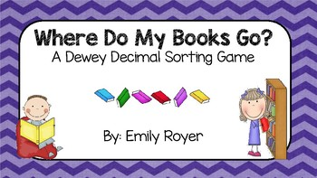 Dewey Decimal Sorting Game