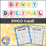 Dewey Decimal System Bingo Game