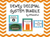 Dewey Decimal System Bundle by KMediaFun