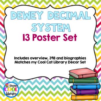 Dewey Decimal System Posters - Chevron