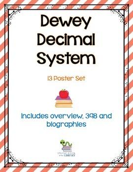 Dewey Decimal System Posters Set 2 - Editable