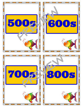 Dewey Decimal System Printable Resources - Worksheets and Go Fish Game