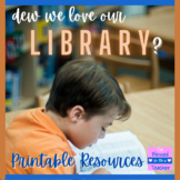 Library Skills - Dewey Decimal System Resources - Worksheets & Go Fish Game