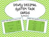 Dewey Decimal System Task Cards by KMediaFun