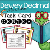 Dewey Decimal Treasure Hunt Task Cards