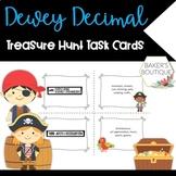 Dewey Decimal Treasure Hunt Task Cards