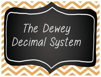 Dewey Decimal Wall Cards