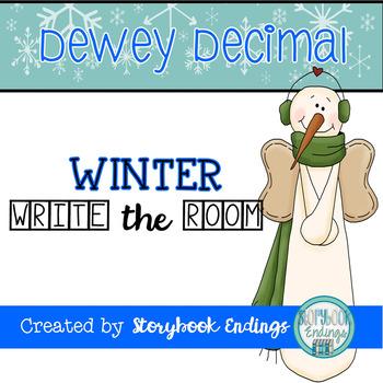 Dewey Decimal Winter Write the Room