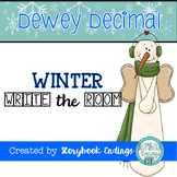 Dewey Decimal Winter Write the Room