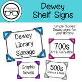 Dewey Shelf Signs