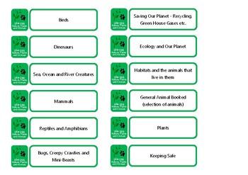 Dewey Library System Shelf Labels