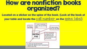 Dewey Nonfiction Ppt. Presentation - Editable