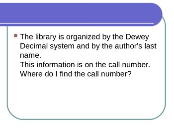 Dewey Poster Introduction Powerpoint