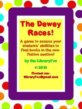 Dewey Races: Finding a Book in the Non-Fiction Section