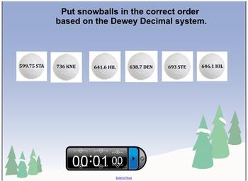Dewey Snowball Fight