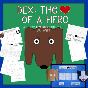 Dex: The Heart of A Hero | Compare and Contrast Activity | Journeys Unit 4, #20