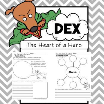Dex The Heart of a Hero: Book Companion