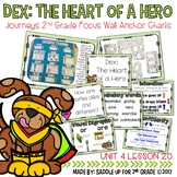 Dex: The Heart of a Hero Focus Wall Anchor Charts and Word
