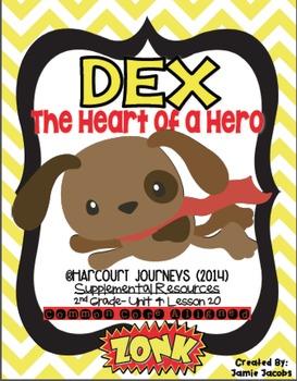 Dex: The Heart of a Hero (Journeys 2nd Grade - Supplementa