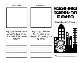 Dex: The Heart of a Hero Journey's Activities - Second Grade Lesson 20