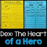 Dex The Heart of a Hero Journeys Activities 2nd Grade