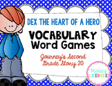 Dex The Heart of a Hero Vocabulary Games