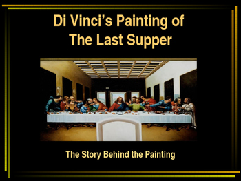 Di Vinci's Painting of the Last Supper
