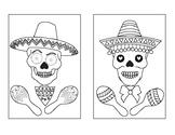 Dia De Los Muertos Calavera Skull Decorating