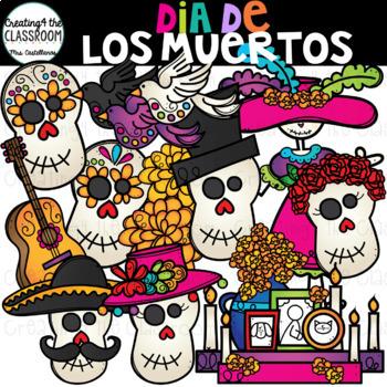 Dia De Los Muertos Clip Art {Day of the Dead Clip Art}