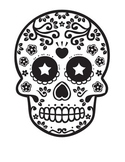 Dia De Los Muertos Coloring Page & Reading Comprehension-