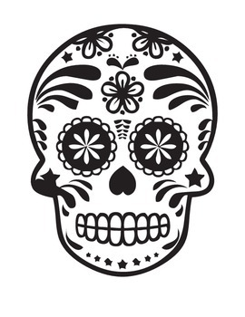 Dia De Los Muertos Coloring Page Reading Comprehension Elem