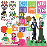 Dia De Los Muertos Clip Art // Day of the Dead Clip Art