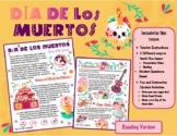 Dia De Los Muertos (Day of the Dead) Lesson