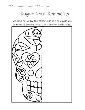 Dia De Los Muertos ~Day of the Dead~ Math and Literacy Mini Unit (In English)