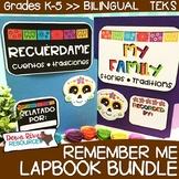 Dia De Los Muertos Lapbook Bundle   Remember Me   Bilingual {English & Spanish}