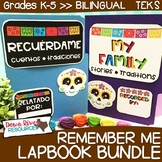 Dia De Los Muertos Lapbook Bundle | Remember Me | Bilingua