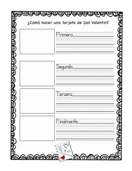 Dia De San Valentín/ Valentines Day in Spanish