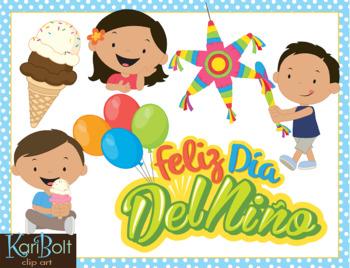 Dia Del Nino (Child Day) Clip Art