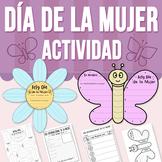 Día Internacional de la Mujer - Actividad