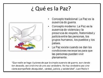 Día Internacional de la Paz.