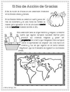 Día de Acción de Gracias - Historia
