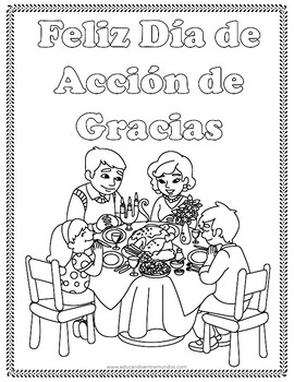 Dia de Accion de Gracias coloring pages