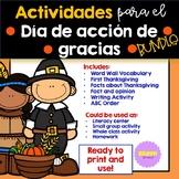 Dia de Acción de Gracias (Bundle)- Thanksgiving Spanish