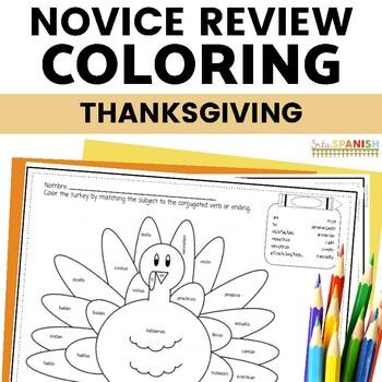 Día de  Acción de  Gracias- Coloring Reviews