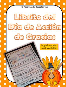 Dia de Accion de Gracias Flip Book