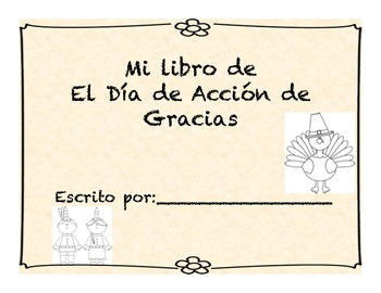 Dia de Accion de Gracias Libro