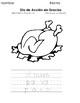 Día de Acción de Gracias - Thanksgiving. Páginas para Colorear - Coloring Pages